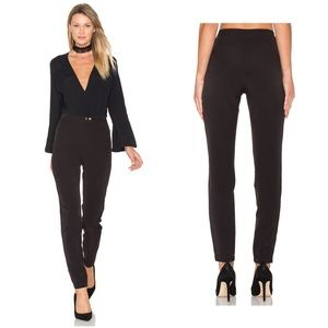 Lovers + Friends High Waist Layla Pant in Black